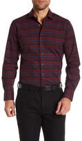 Toscano Long Sleeve Spread Collar Shirt
