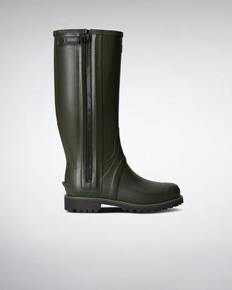 Hunter Men's Balmoral Full Rubber Zip Wellington Boots