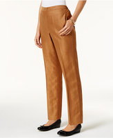Alfred Dunner Jungle Love Pull-On Straight-Leg Pants