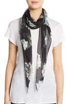 Vince Camuto Photo Bloom Silk Scarf
