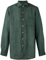 Massimo Alba long sleeve pocket shirt - men - Ramie - L