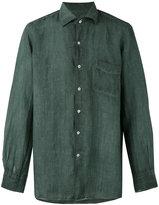 Massimo Alba long sleeve pocket shirt - men - Ramie - XL