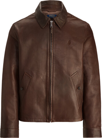 Thumbnail for your product : Ralph Lauren Lambskin Leather Jacket
