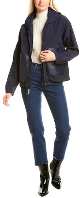 Cole Haan Rubberized Pocket Jacket