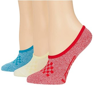 Vans 3-Pack Classic Marled Canoodles (Marled Multi) Women's Crew Cut Socks Shoes