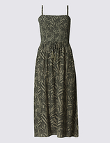 M&S Collection Animal Print Midi Dress