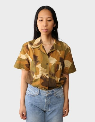 YMC You Must Create - Multicolor Vegas Short Sleeves Shirt - extra small