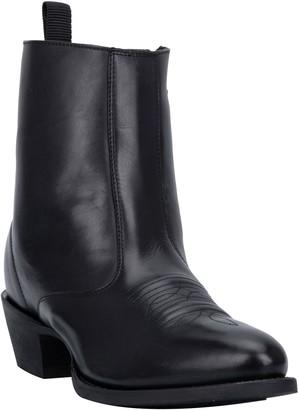 Laredo Men's Leather Side Zip Ankle Boots - Fletcher