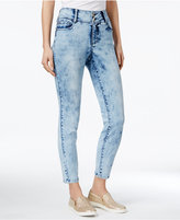 Thalia Sodi Cropped Acid Wash Skinny Jeans, Only at Macy's