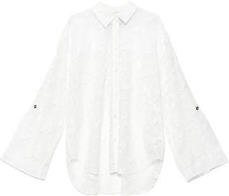 MSGM Lace Oversize Shirt