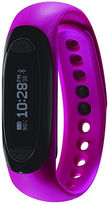 Soleus Dash Womens Pink Silicone Strap Fitness Tracker Sport Watch