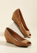 All Walks of Life Wedge in Caramel in 8