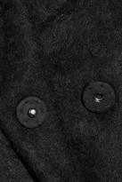 Diane von Furstenberg Harrington brushed-felt coat