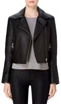 J Brand Women's Aiah Leather Moto Jacket