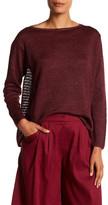Lafayette 148 New York Relaxed Hemp Sweater