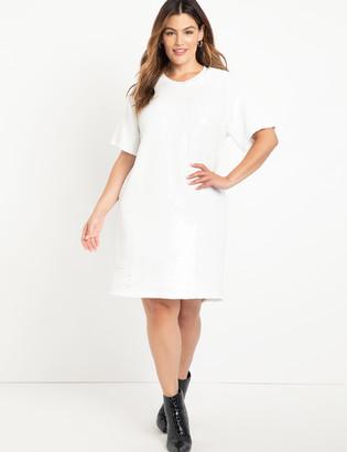 ELOQUII Elements Sequin Dress