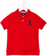 Hackett Kids embroidered logo polo shirt
