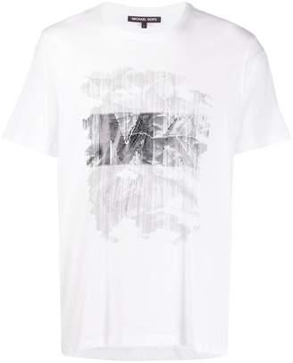 Michael Kors Typewriter graphic print T-shirt