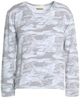 Monrow Printed Jersey Top