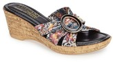 Women's Tuscany By Easy Street Conca Wedge Slide