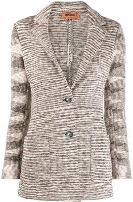 Missoni Knitted Wool Blazer