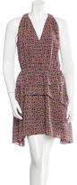 Derek Lam 10 Crosby Printed Sleeveless Dress