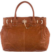 Rachel Zoe Grained Leather Satchel