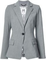 Milly one button blazer - women - Polyester/Spandex/Elastane/Wool - 4