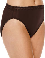 Jockey Nylon High Seamless French Lace Cut Panty