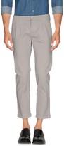 Grey Daniele Alessandrini Casual pants - Item 36934841
