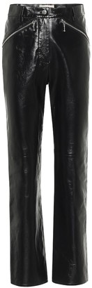 ALEXACHUNG Siouxsie high-rise leather pants