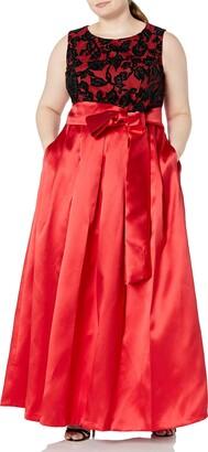 Eliza J Women's Size Lace Top Ballgown