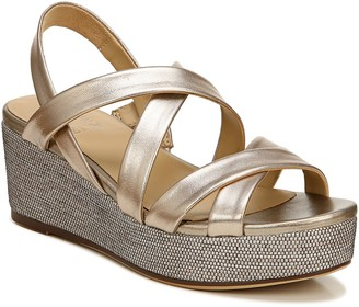 Naturalizer Strappy Wedge Sandals - Unique