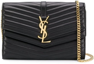 Saint Laurent Sulpice quilted chain wallet