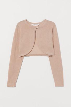 H&M Fine-knit Bolero Jacket