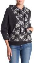 Anama Charcoal Floral Hoodie