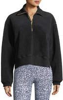 Varley Daphne Partial-Zip Pullover Sweatshirt