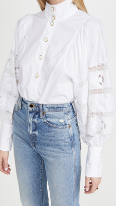 Essentiel Antwerp Witching Balloon Sleeves Shirt