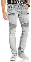 Rock Revival Distressed Moto Jeans