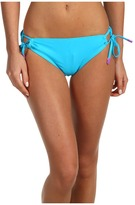 TYR Top of the Line Tunnel Side Tie Bikini Bottom (Volts/Limelight) - Apparel