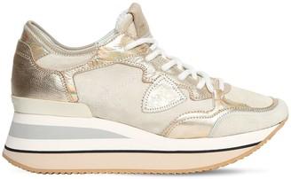 Philippe Model Triomphe Daim Sneakers