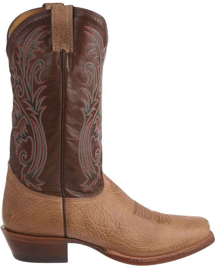 Nocona Delta Cowboy Boots - Leather, Square Toe (For Men)