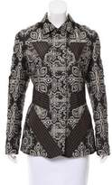 Issey Miyake Patchwork Brocade Jacket