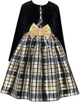 Bonnie Jean Long Sleeve Fit & Flare Dress - Big Kid Girls