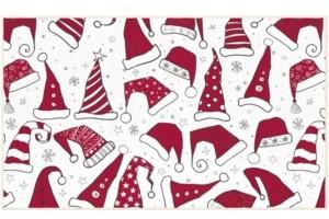 """Mohawk Santa Hats Accent Rug, 18"""" x 30"""" Bedding"""