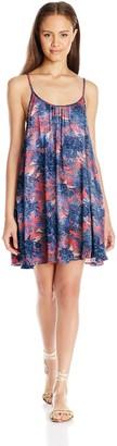 Roxy Women's Windy Fly Away Print Cover-up Dress