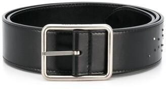 Alexander McQueen Inlay Studded Belt