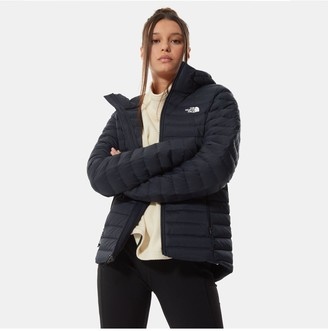 The North Face Stretch Down Hoodie - Navy
