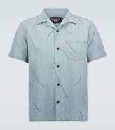 Ralph Lauren RRL Guitar printed short-sleeved shirt
