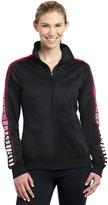 Sport-Tek Women's Dot Sublimation Tricot Track Jacket XXL
